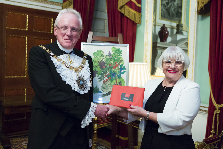 Presentation of Painting to Lord Mayor October 2017